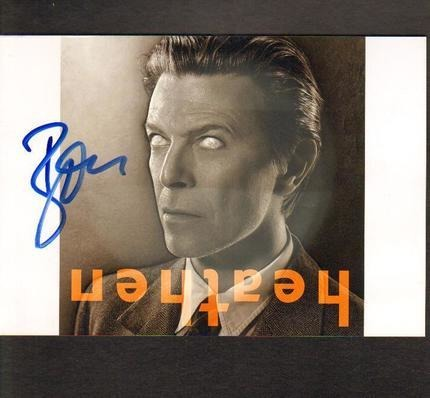#<Artist:0x00007f86c8713d28> - David Bowie Signed Photo