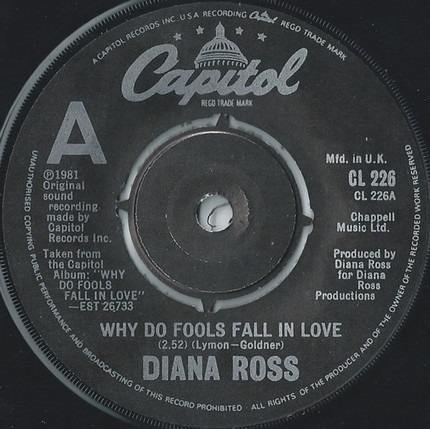 #<Artist:0x0000000007e35088> - Why Do Fools Fall in Love