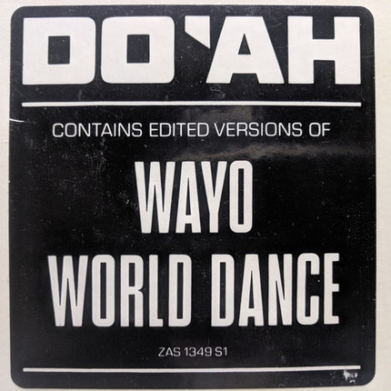 #<Artist:0x00007f9202a08408> - World Dance / Wayo