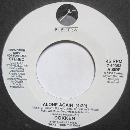 #<Artist:0x00000000085575f0> - Alone Again