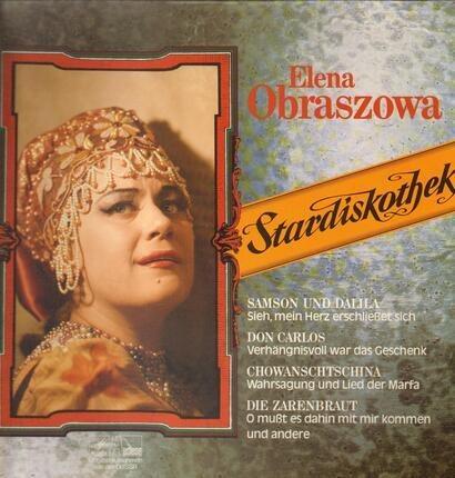 #<Artist:0x00007ff81de72878> - Elena Obraszowa singt berühmte Arien
