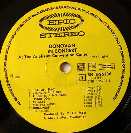 #<Artist:0x00007fcec12207a8> - Donovan In Concert