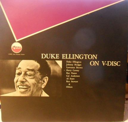 #<Artist:0x00007f740fd21a60> - Duke Ellington On V-Disc