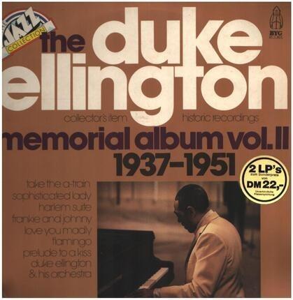 #<Artist:0x00007f740d2fd040> - The Duke Ellington Memorial Album Vol.2