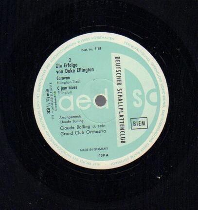 #<Artist:0x00007fe7db7c0298> - Die Erfolge von Duke Ellington