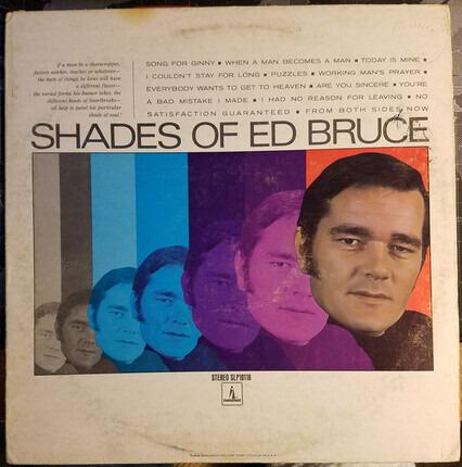 #<Artist:0x00007f73e4f75a80> - Shades of Ed Bruce