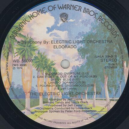 #<Artist:0x00007fb7ea36a278> - Eldorado - A Symphony By The Electric Light Orchestra