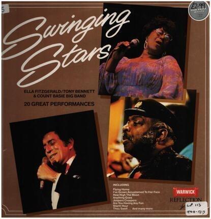 #<Artist:0x00007f00742e2f90> - Swinging Stars - 20 Great Performances