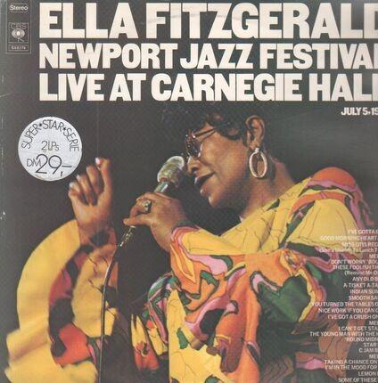 #<Artist:0x00007ff6f3281648> - Newport Jazz Festival - Live At Carnegie Hall,  July 5, 1973