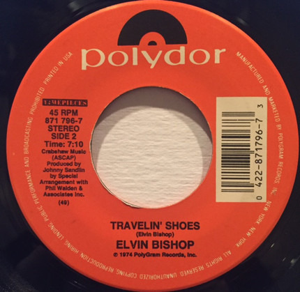 #<Artist:0x00007fce32ec97a0> - Fooled Around And Fell In Love / Travelin' Shoes