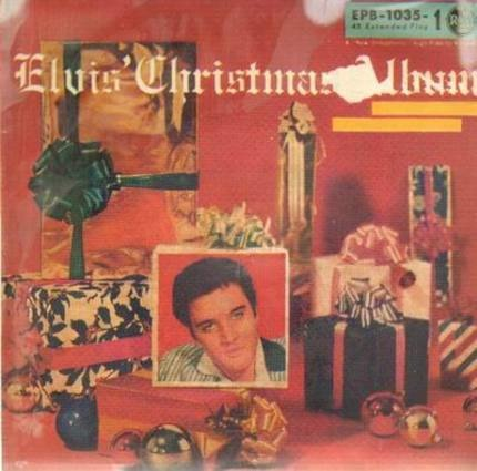 #<Artist:0x00007f7e1c925300> - Elvis Christmas Album EP
