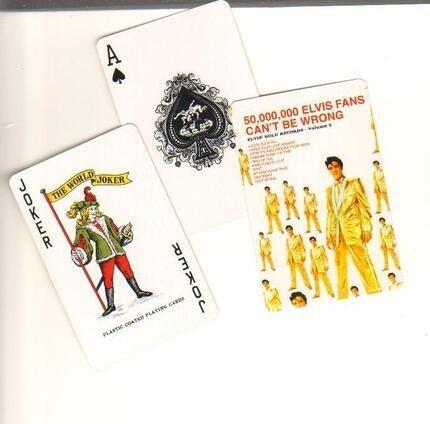 #<Artist:0x00007fec6533b978> - Elvis deck of cards