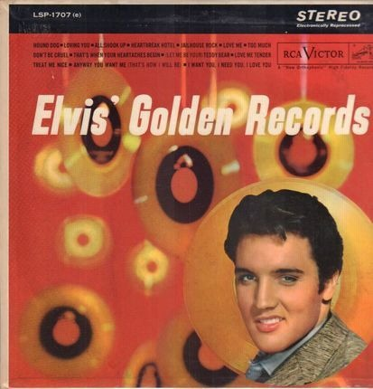 #<Artist:0x00007ffa64717210> - Elvis' Golden Records Volume 1