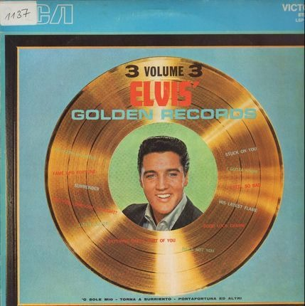 #<Artist:0x00007fce0abb4f38> - Elvis' Golden Records Volume 3