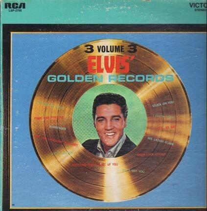 #<Artist:0x0000000008edbdd8> - Elvis' Golden Records Volume 3