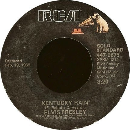 #<Artist:0x00007f842d634df0> - Kentucky Rain, My Little Friend