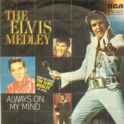 #<Artist:0x00007f7e1e156af0> - The Elvis Medley / Always On My Mind