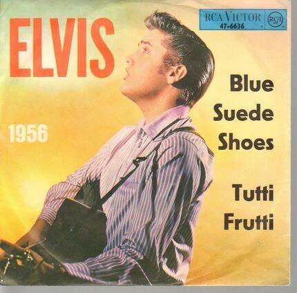 #<Artist:0x00007f8e1d6e7c30> - Blue Suede Shoes