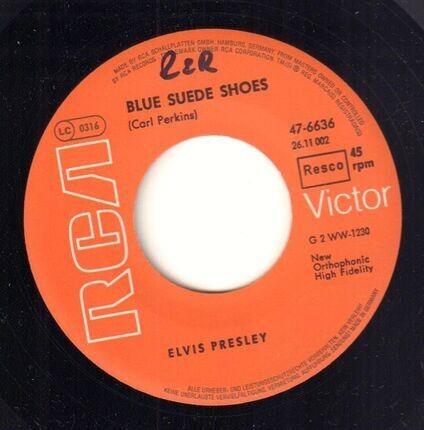 #<Artist:0x00007fc6c6f56c40> - Blue Suede Shoes / Tutti Frutti
