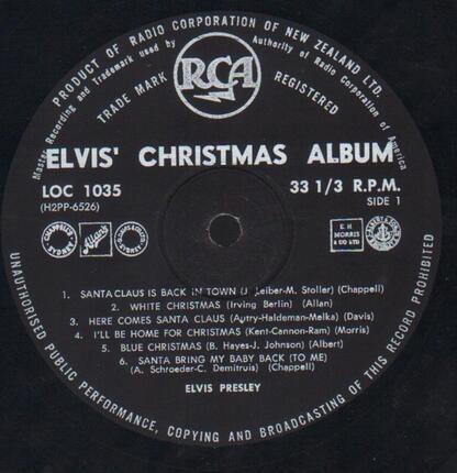 #<Artist:0x00007fcee08bf748> - Elvis' Christmas Album