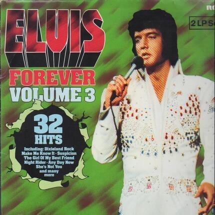 #<Artist:0x00007f18f30f3b48> - Elvis Forever Volume 3