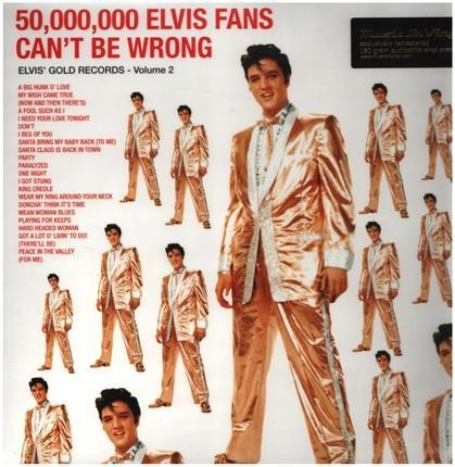 #<Artist:0x00007f410d98b520> - Elvis' Gold Records Volume 2, 50.000.000 Elvis Fans can't be wrong