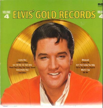 #<Artist:0x00007fb541063238> - Elvis' Gold Records Volume 4