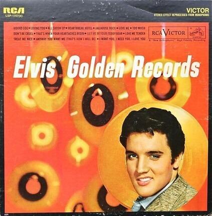 #<Artist:0x00000000087b0ea0> - Elvis' Golden Records Volume 1