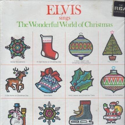 #<Artist:0x00007f1ffba27278> - Elvis Sings the Wonderful World of Christmas