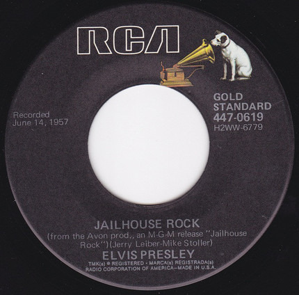 #<Artist:0x00007f4aa7d7e300> - Jailhouse Rock / Treat Me Nice