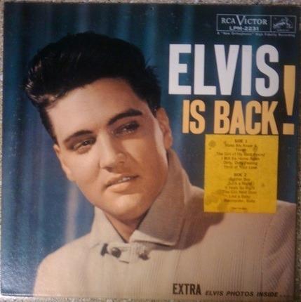 #<Artist:0x00007fae55933ce8> - Elvis Is Back!