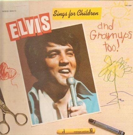 #<Artist:0x00007f2fb3b39f40> - Elvis Sings For Children And Grownups Too !
