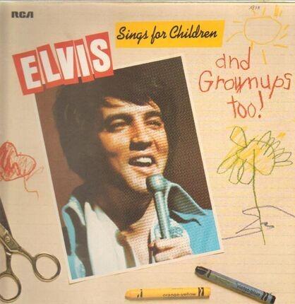 #<Artist:0x00007f7e1da2cea0> - Elvis Sings For Children And Grownups Too !