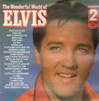 #<Artist:0x00007fd6ac1f7978> - The Wonderful World of Elvis
