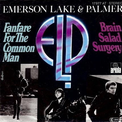 #<Artist:0x00007fcee178d450> - Fanfare For The Common Man / Brain Salad Surgery
