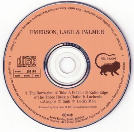 #<Artist:0x00007fcee16fd6e8> - Emerson, Lake & Palmer
