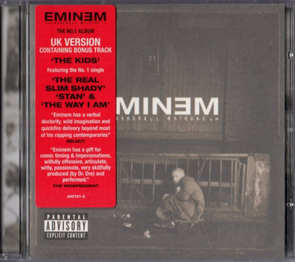 #<Artist:0x00007f2ce1310d48> - The Marshall Mathers LP