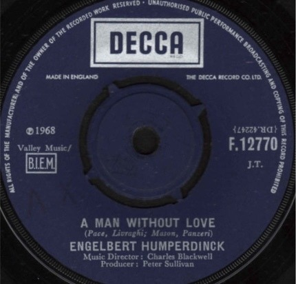 #<Artist:0x00007f410c11c430> - A Man Without Love / Call On Me