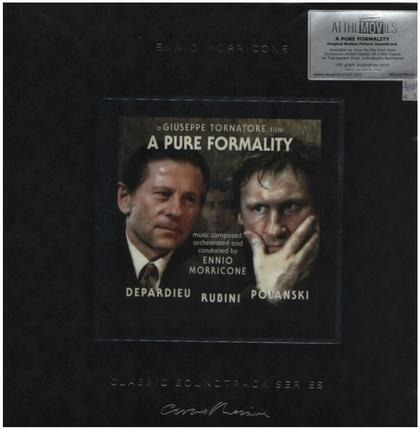 #<Artist:0x00007f38e3107cf0> - A Pure Formality (O.S.T.) (ltd Clear Vinyl)