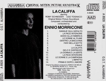 #<Artist:0x00007fcec19da390> - La Califfa (Original Motion Picture Soundtrack)