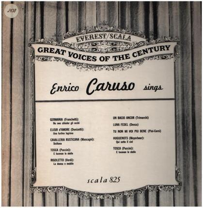 #<Artist:0x00007f920b22b240> - Enrico Caruso Sings