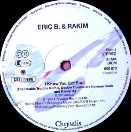#<Artist:0x00007f40f46267e0> - I Know You Got Soul (Six Minutes Of Soul)