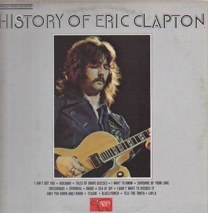 #<Artist:0x00007f138f806cc8> - The History Of Eric Clapton