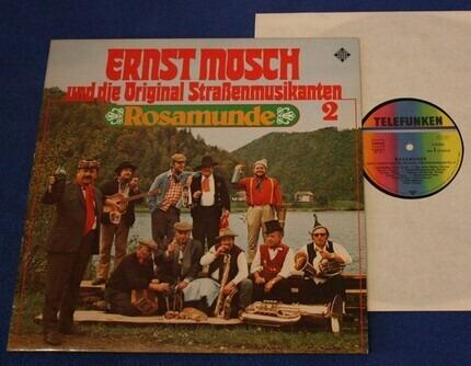 #<Artist:0x00007fcf0509b9c0> - Ernst Mosch Und Die Original Straßenmusikanten 2 - Rosamunde