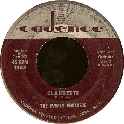 #<Artist:0x000000000692f558> - All I Have To Do Is Dream / Claudette