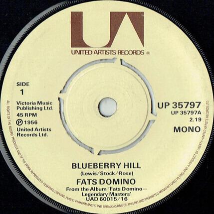 #<Artist:0x00007fcec341e8f0> - Blueberry Hill