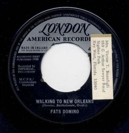 #<Artist:0x00007fceb9a42178> - Walking to New Orleans