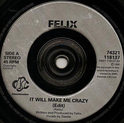 #<Artist:0x00007fcee229bdd8> - It Will Make Me Crazy