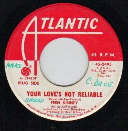 #<Artist:0x00007f740c5b8740> - Your Love's Not Reliable