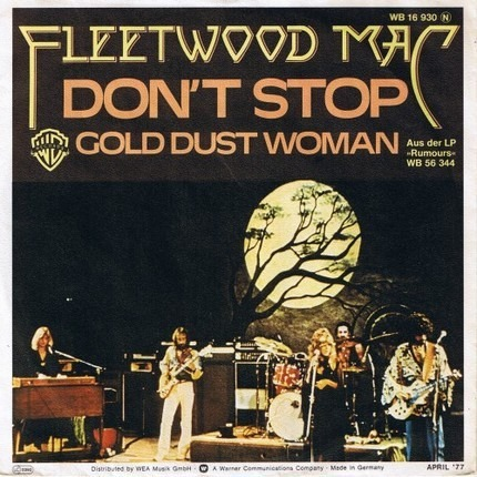 #<Artist:0x00000000081cc958> - Don't Stop / Gold Dust Woman